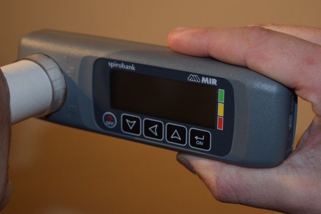Spirometer - Used to Measure Lung Function