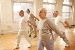 Elderly Yoga